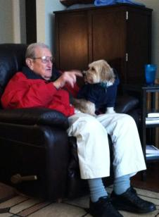 Grandaddy and Daisy